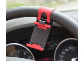 Universal Car Steering Wheel Mount / Holder for iPhone / Samsung Galaxy / Android Smartphones