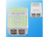 Universal Wall / Travel USB Charger for iPad / iPhone / Galaxy Note 8 / Galaxy S8 / LG / HTC Phones