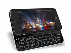 Bluetooth Sliding Keyboard for iPhone 5 / iPhone 5s