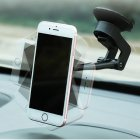 Multi-Angle Dashboard / Windshield Magnetic Mount for iPhone / Sony / Samsung / LG Smartphones