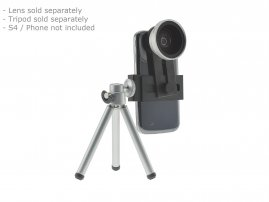 Conversion Adapter Kit for using 37mm SLR Lenses on Galaxy S4 / Galaxy S5