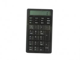 USB numeric Keypad with calculator and Tax Computation Keys