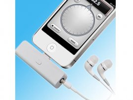 8pin Lightning Compatible FM Radio for iPhones / iPads / iPods