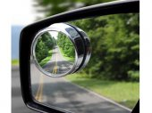 Motorcycle / Truck / Car Blind Spot Mirror (Convex Mirror, Fisheye Effect, 30 Degree Adjustable)