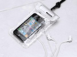 WATERWEAR - The Water Resistant holder w/earphones for iPhone 5s / iPhone 5c / iPhone 5 / iPod Touch