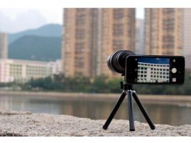 Optical 6X-18X Zoomable Telescope Lens for iPhone 5s / iPhone 5
