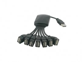 Octopus USB 2.0 Cable 7-Port Hub