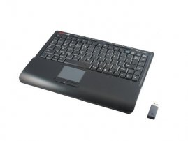Mini USB Wireless Keyboard with touchpad (Tile Version)