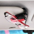 Auto Sun Visor Clip for Glasses / Sunglasses / Ticket / SmartCard / Licenses / Passes