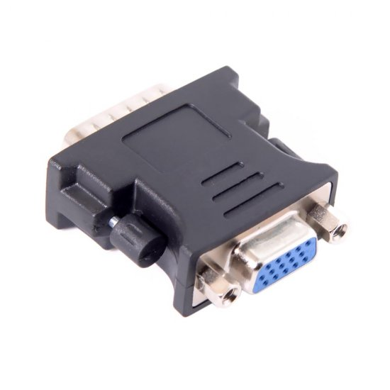 LFH DMS-59pin Male to 15Pin VGA RGB Female Extension Adapter for PC Graphics Card - Click Image to Close