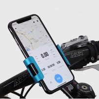 Alumnium Screw-Lock Universal Bike & Motorbike Holder (Cell Phone Mount) for iPhone / Smart Phones