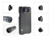 7-in-1 Combo (20X Microscope / Wide Angle (+Macro) / Fisheye / 2X / 9X / 12X Zoom Lens for Galaxy S5
