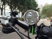 1200 Lumen(3-mode) Super Bright Bicycle LED Flashlight / Headlight with 4400mAH Rechargeable Battery