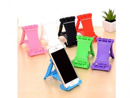 Portable Foldable Desk Stand / Holder for iPhone / iPad / Tablets / Smartphones and MP3 Players