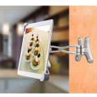 Articulating Wall Mounting Security Lock for iPad Pro 10.5 / iPad Pro 9.7 / iPad / Samsung Tablets