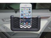 Nylon Net Back / Adsesive Phone Card Ticket String Bag for Auto / Car