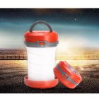 AA Battery Powered Collapsible Camping Lantern / Portable LED Torch / Outdoor Flashlight for Hiking