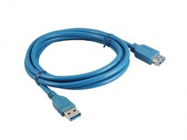 USB 3.0 A Male to A Female Cable Assembly (2 meters)