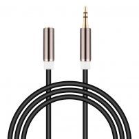 16 Feet Ultra Long 3.5mm 3-Pole Male to Female Extension Cable / Headphone Adapter for iPhone, Phone