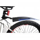 Dovetail Bike Tire Front and Rear Fender (Mud Guard / Mudguard) Set