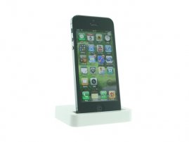Desktop Charger & Sync Cradle Dock Stand for iPhone 5s / iPhone 5