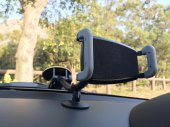 Ultra Large Suction Cup Windshield Phone Grip for Cell Phones (Galaxy Note / iPhone 6 Plus)