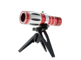 20X Super Long Range Telescope for iPhone 5s / 5 Photography