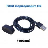 Replacement 1 meter Charger Cradle Dock with USB Cable for Fitbit inspire / inspire HR Smartwatch