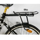 Quick-Release Seatpost-Mounted Commuter Carrier / Rear-Mount Bicycle Cargo Carrier Rack