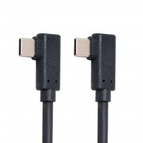 6 ft USB-C (USB Type-C to Type-C) Cable Gen2 10Gbps 65W Dual 90 Degree Left Right Angled Type