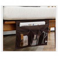 Bedside Storage Organizer Bag / Bed Hangging Caddy for Books / iPad / iPhone / Phones / Tablets