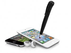 2-in-1 Stereo Bluetooth Headset and Capacitive Stylus for Smartphones / Tablets