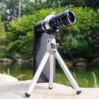 Metal Casting 12X Telephoto (Zoom / Long Range Telescope) Lens for Apple iPhone 8, 8 Plus