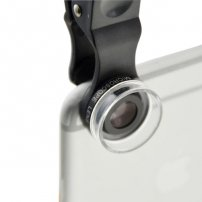 Cloth-Clip 30X Microscope Lens (Macro) for iPhone, iPad, Samsung Galaxy, HTC, LG, Sony Xperia Phones