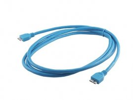 USB 3.0 Cable assembly (USB 3.0 Micro B male to USB 3.0 Micro A Male)