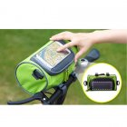 Bicycle / Bike Handlebar Bag with Phone Holder for iPhone / Smart Phones