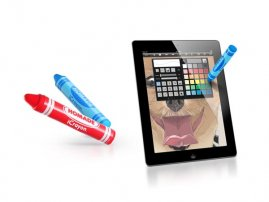 iCrayon - the Real Crayon for your iPad / iPhone / iPod Touches / Galaxy Tablets / Smartphones