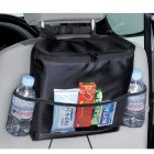 Car Back Seat (Headrest) Organizer for Food, Drink Thermos pocket / Tissue Holder / Mesh Pockets