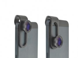 Clip-Slide 0.65X Wide Angle with Macro Lens for iPhones / iPads / Smart Phones