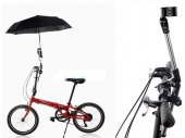 360 Degree Swivel Wheelchair / Bike / Bicycle / Stroller / Chair Umbrella Holder / Mount / Stand