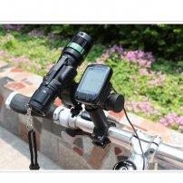 Seatpost / Handlebar T-Shaped Bar Extender for Flashlights / Stopwatch / Speedometer