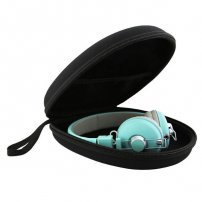 EVA Hard Case Accessory Carrying / Storage Case with Zipper Enclosure / Headphone Protective Case
