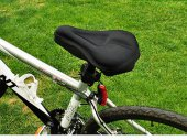 Bike / Bicycle Soft Gel / Silicone Cushion Saddle / Pad / Seat Cover