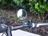 Quick Release Bike / Bicycle Handlebar Flexible Rear View Mirror / Reflector