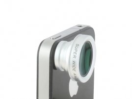 Magnet Mount 0.5X Super Wide Angle Lens for iPhone / Samsung, HTC, LG, Sony, Motorola, Mi Cellphones