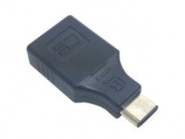 Straight USB 3.1 Type C Male to USB 3.1 Type C Female Adapter / Converter / Connector