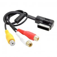 AMI MMI to 3 RCA Audio Video Cable Female DVD video and audio input cable For Audi A1 A7 A8 VW Car