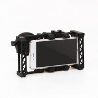 Smartphone Video Rig for Filmmaking with Cold Shoe Mount, Phone Video Stabilizer Grip