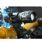 2-in-1 Flashlight Mount for Bike Handlebar / Flashlight Holster Belt Clip