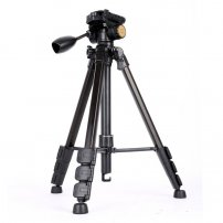Professional Tripod with Rocker Arm Ball Head for DSLR / SLR Camera, VideoCam